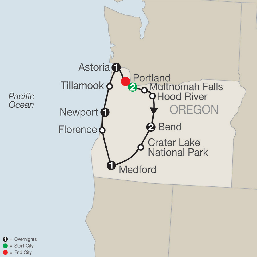 Oregon's Coast, Cascades & Craft Beers