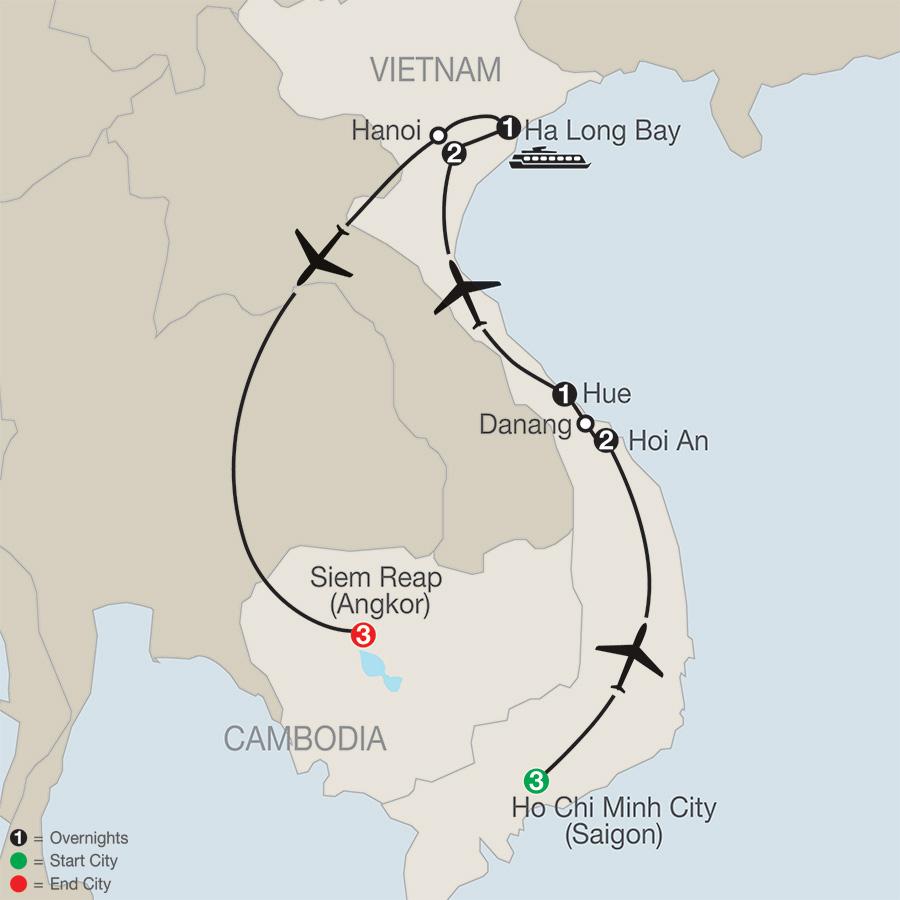 Vietnam & Cambodia: A Grand Adventure