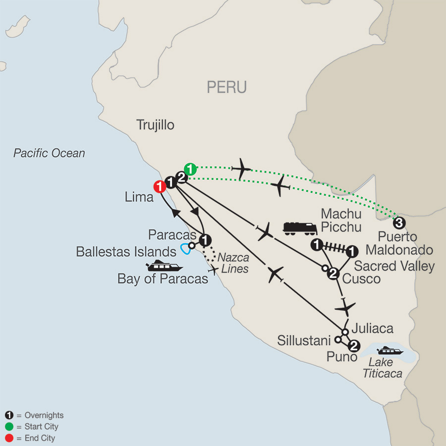 Legacy of the Incas with Peru's Amazon