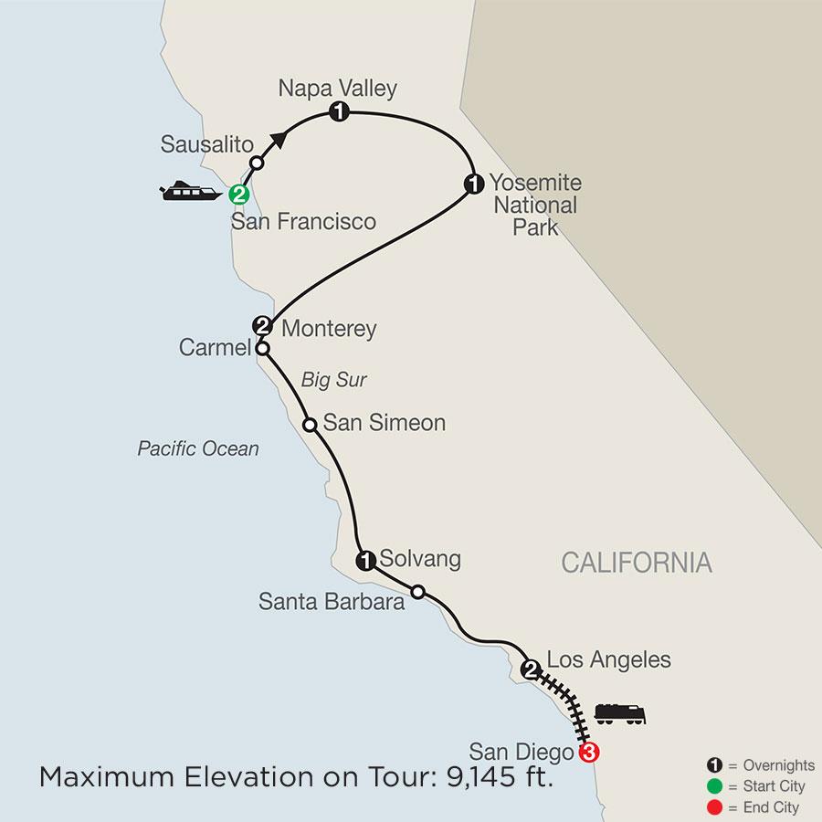 California Classics with San Diego
