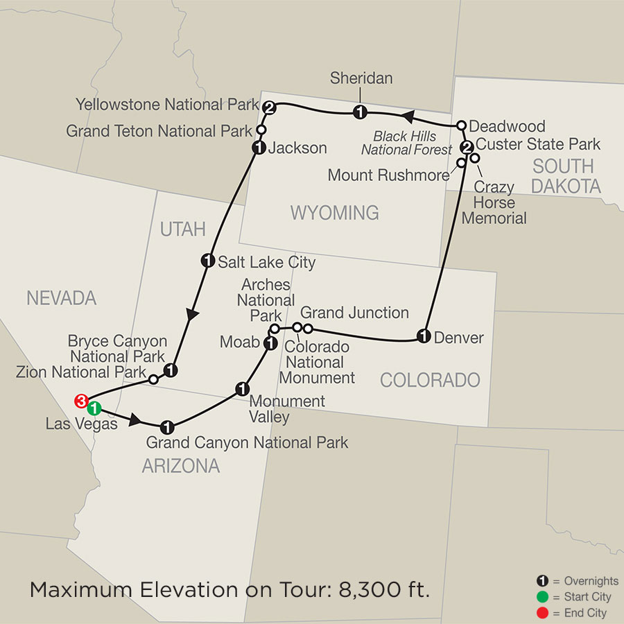 Exploring America's Great Parks with Extended Stay in Las Vegas