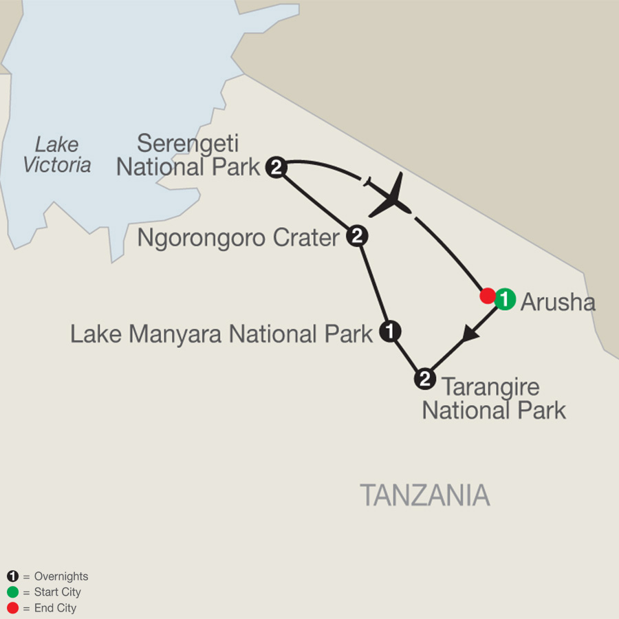 Tanzania: The Serengeti & Beyond