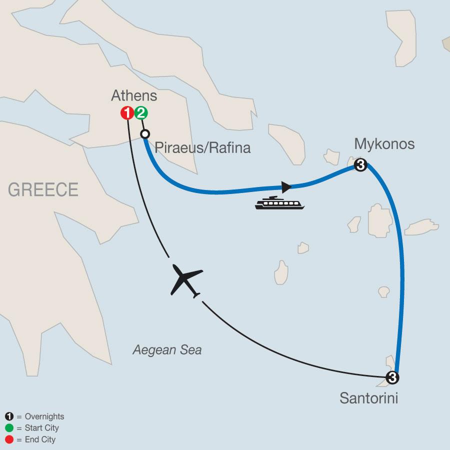 Greek Islands Tour Package Globus Escorted Greece Tours