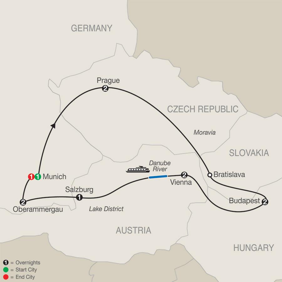 Imperial Splendors with Oberammergau