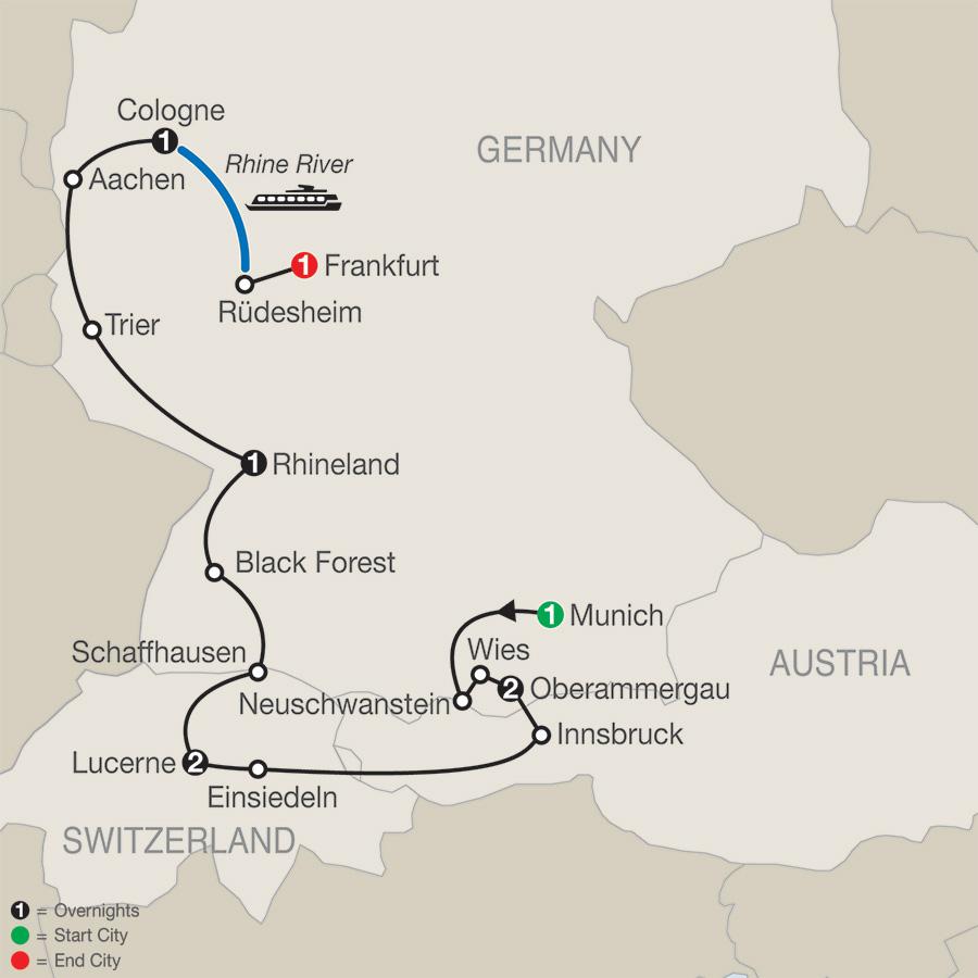 Catholic Central Europe with Oberammergau–Faith–Based Travel
