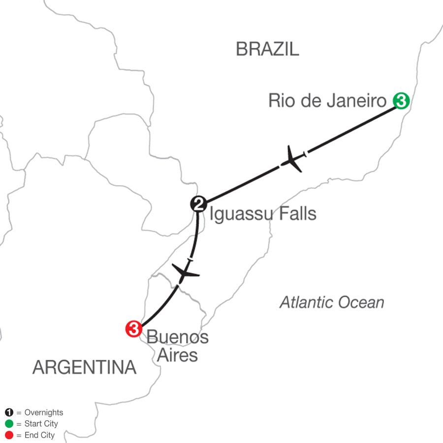 Brazil & Argentina Escape