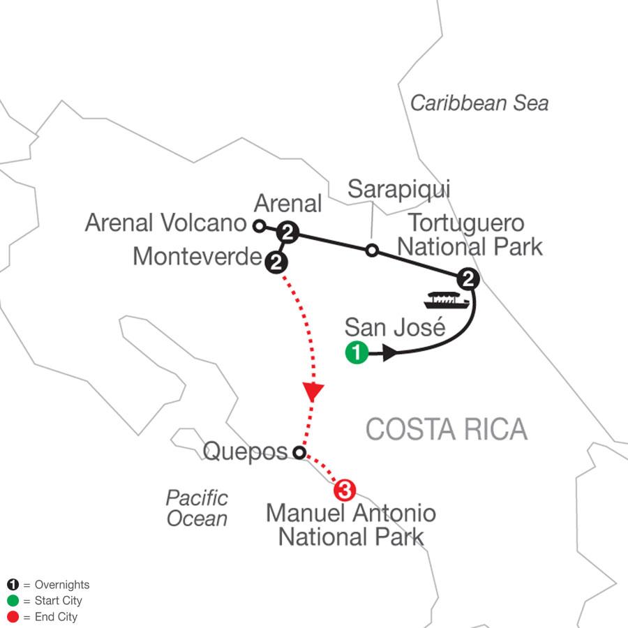 Natural Wonders of Costa Rica with Manuel Antonio