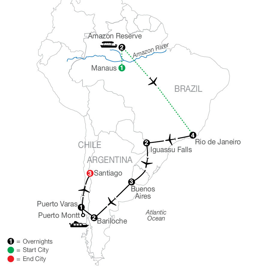 South American Odyssey with Amazon