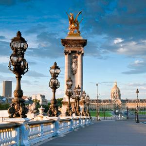 3 Nights London, 5 Nights Paris & 4 Nights Rome