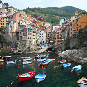 Northern Italy's Highlights & Cinque Terre (LV)