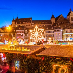 Christmastime from Budapest to Basel with 2 Nights in Budapest