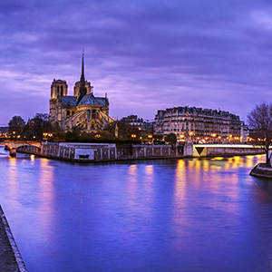 Festive Season on the Romantic Rhine with 3 Nights Paris & 3 Nights London