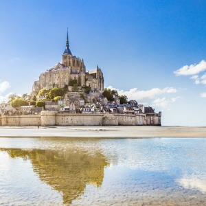Reflections on the Seine with 1 Night in Mont St. Michel (Northbound)