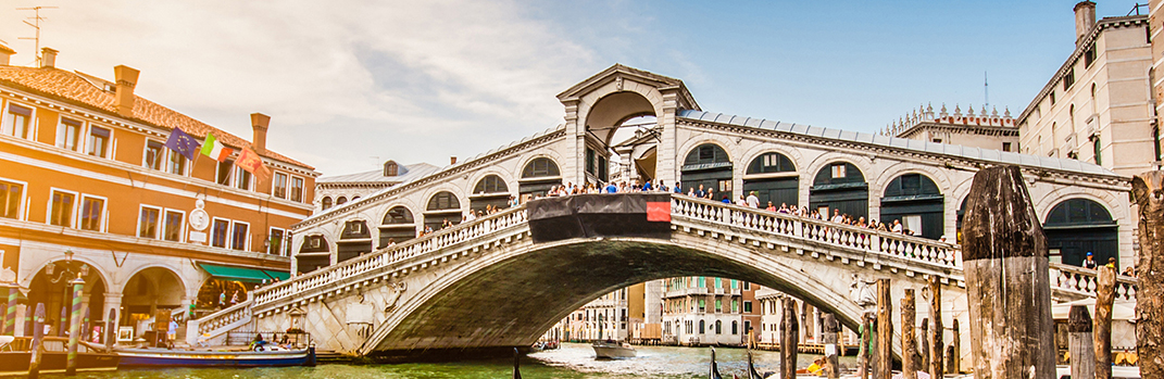 $2,099pp Monograms 2 nights Rome, 2 nights Florence & 2 nights Venice air-inclusive on select August 2019 departures