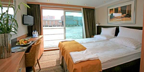 Avalon Deluxe Stateroom (Cat. A, B, P)
