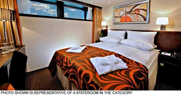 Avalon Deluxe Stateroom (Cat. D, E)