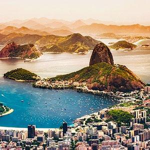 Spirit of South America (UK version with 1 pre-night Rio)